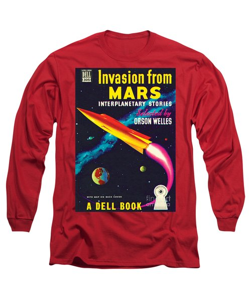 Invasion From Mars Long Sleeve T-Shirt by Malcolm Smith