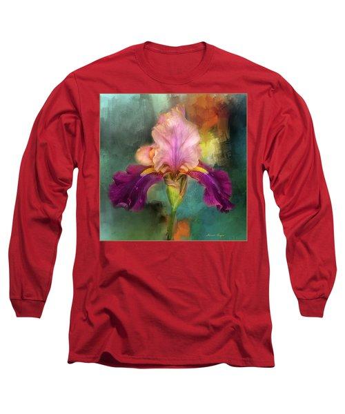 Iris Abstract  Long Sleeve T-Shirt