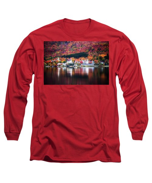 Island Pond Vermont Long Sleeve T-Shirt