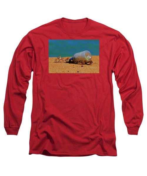 Long Sleeve T-Shirt featuring the photograph It's 5 O'clock Somewere by James McAdams