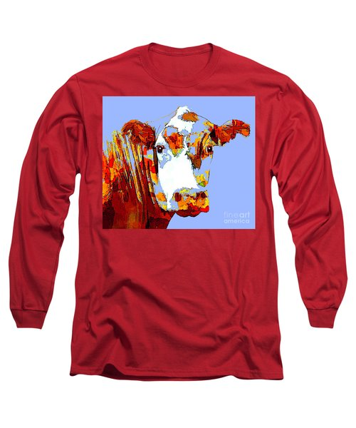 Purple Cow Long Sleeve T-Shirt