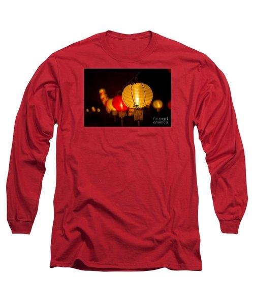 Japanese Lanterns 3 Long Sleeve T-Shirt