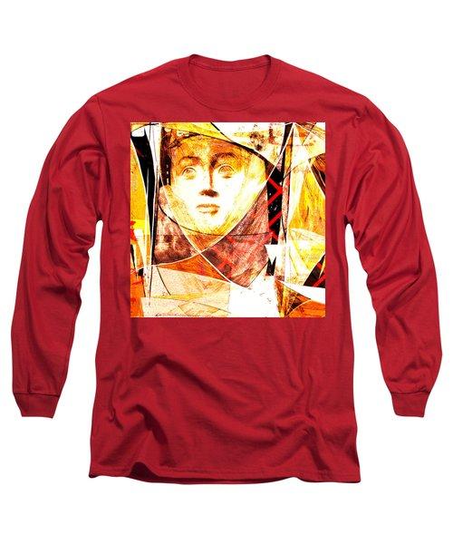 Je Aimerais Vivre Avec Vous Long Sleeve T-Shirt by Danica Radman