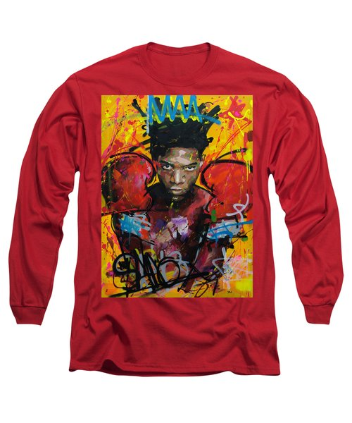 Jean-michel Basquiat Long Sleeve T-Shirt by Richard Day