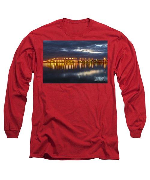 Jensen Beach Causeway #5 Long Sleeve T-Shirt by Tom Claud