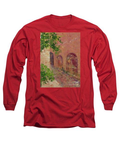 Jerusalem Alleyway Long Sleeve T-Shirt