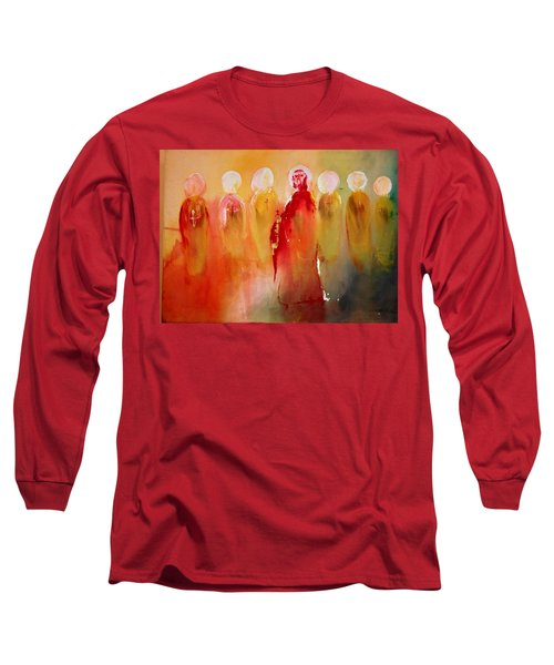 Jesus With His Apostles Long Sleeve T-Shirt