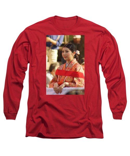Jidai Matsuri Xxii Long Sleeve T-Shirt by Cassandra Buckley