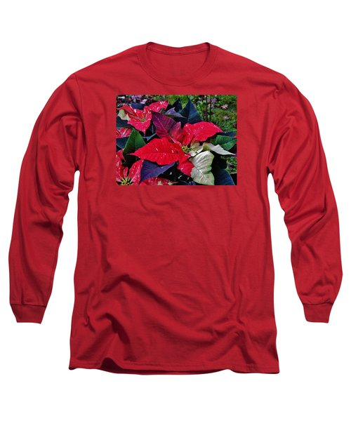 Jingle Bell Rock 2 Long Sleeve T-Shirt by VLee Watson
