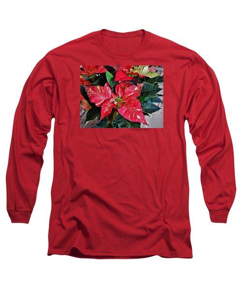 Jingle Bell Rock 3 Long Sleeve T-Shirt by VLee Watson
