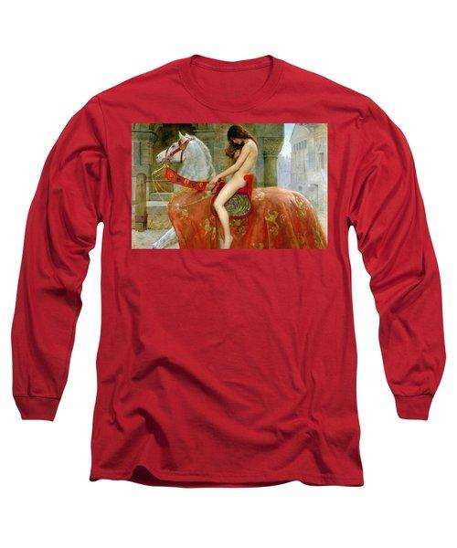 Lady Godiva Long Sleeve T-Shirt