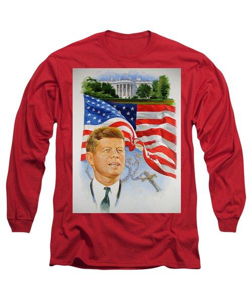 John Kennedy Catholic Long Sleeve T-Shirt