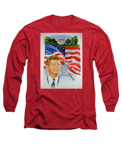 John Kennedy Catholic Long Sleeve T-Shirt