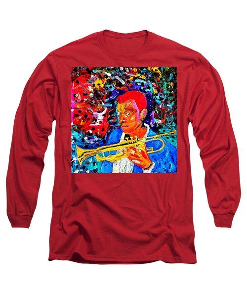 Joshua Bluegreen-cripps Long Sleeve T-Shirt