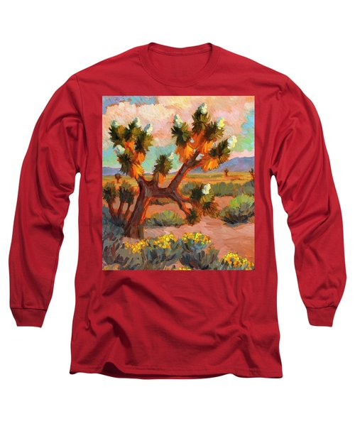 Joshua Tree Long Sleeve T-Shirt by Diane McClary