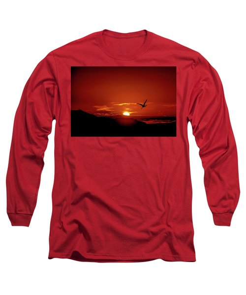Journey Home Long Sleeve T-Shirt by Mark Dunton