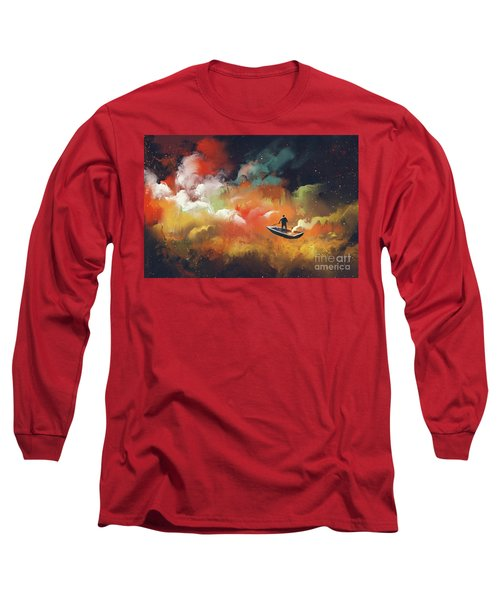 Journey To Outer Space Long Sleeve T-Shirt