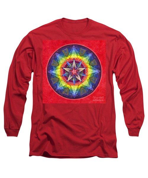 Joy Mandala Long Sleeve T-Shirt