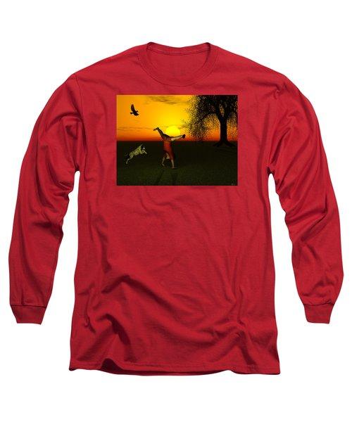 Joy Long Sleeve T-Shirt by Michele Wilson