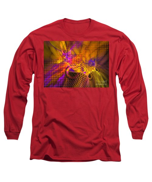 Joyride - Abstract Art Long Sleeve T-Shirt