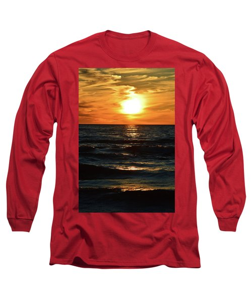 June 21 - 2017 Sunset At Wasaga Beach  Long Sleeve T-Shirt