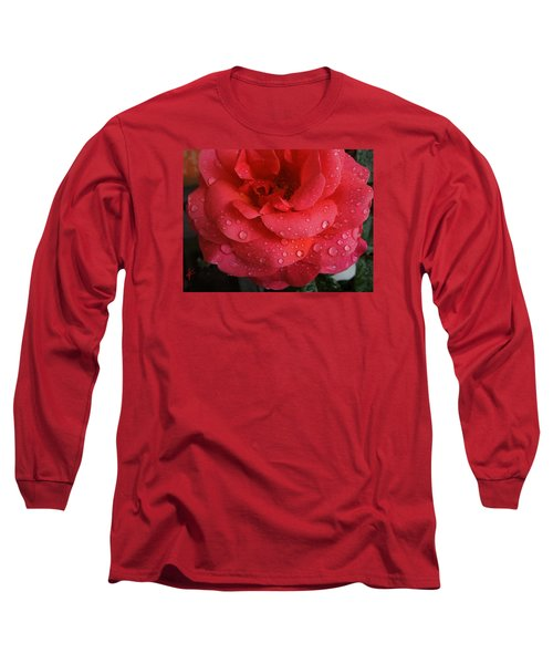 Long Sleeve T-Shirt featuring the photograph June  Rose  by Colette V Hera  Guggenheim