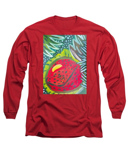 Long Sleeve T-Shirt featuring the painting Jungle Fruit by Artists With Autism Inc