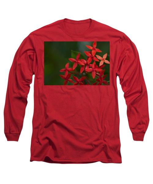 Jungle Geranium Long Sleeve T-Shirt