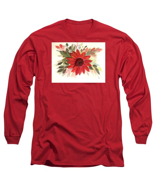 Long Sleeve T-Shirt featuring the painting Just For You by Dorothy Maier