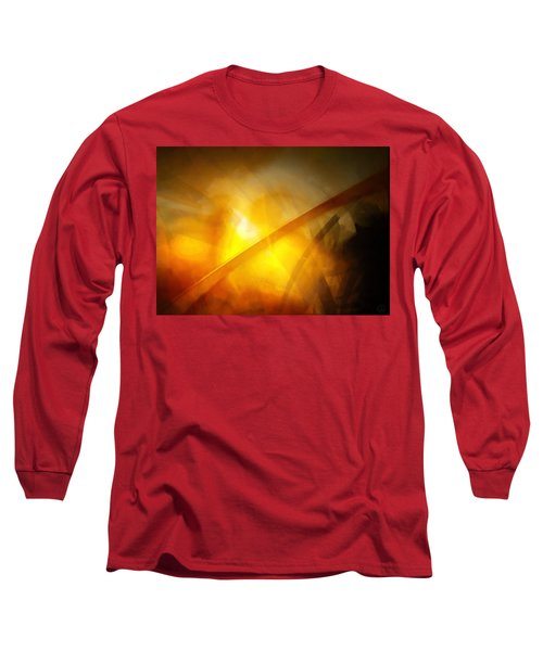 Long Sleeve T-Shirt featuring the digital art Just Light by Gun Legler