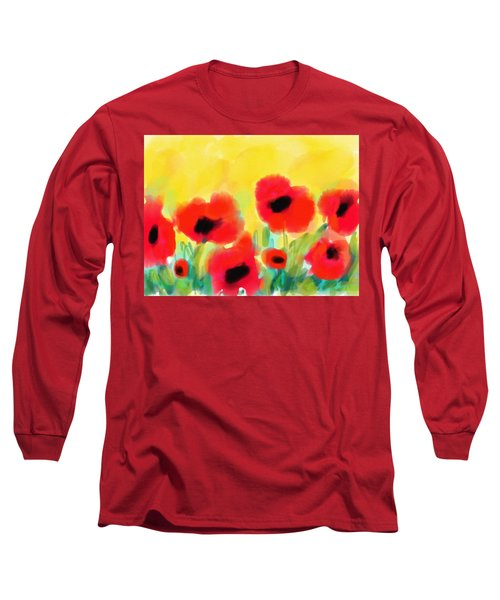 Just Poppies Long Sleeve T-Shirt