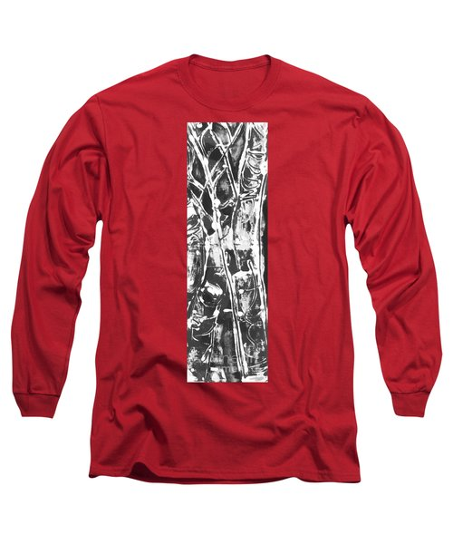 Long Sleeve T-Shirt featuring the painting Justice by Carol Rashawnna Williams