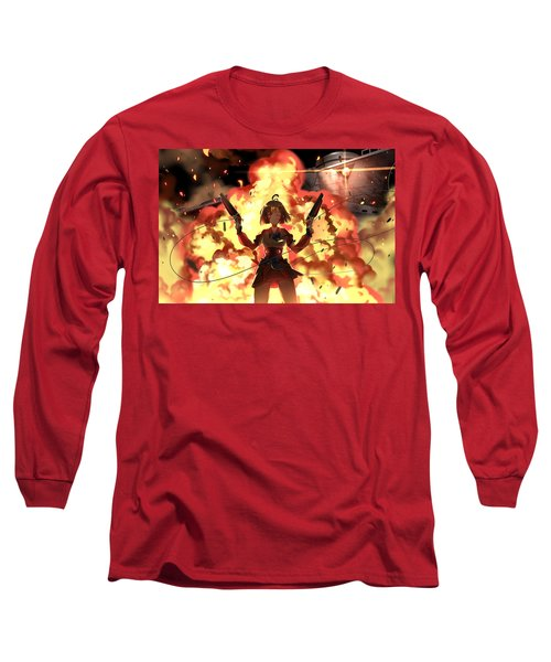 Kabaneri Of The Iron Fortress Long Sleeve T-Shirt