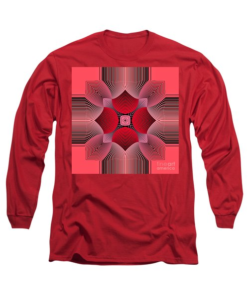 Long Sleeve T-Shirt featuring the digital art Kal - 36c77 by Variance Collections