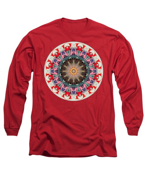 Long Sleeve T-Shirt featuring the photograph Kaleidos - Ptown07 by Jack Torcello