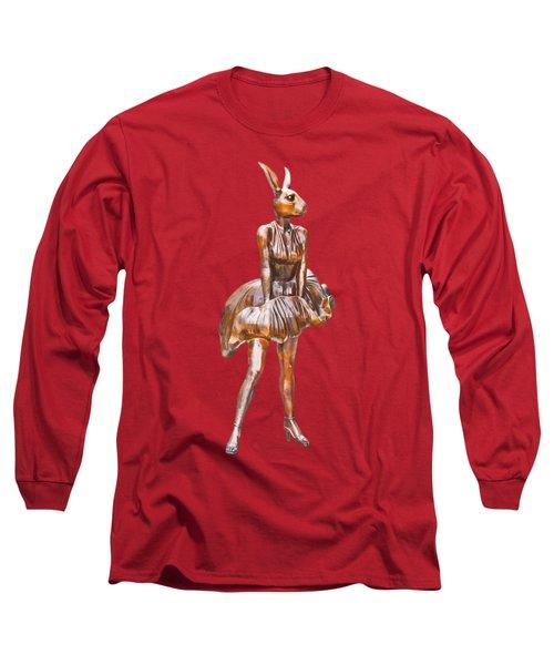 Kangaroo Marilyn Long Sleeve T-Shirt
