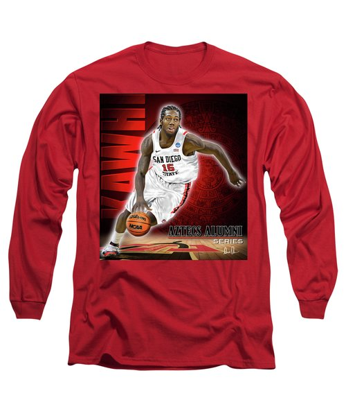 Long Sleeve T-Shirt featuring the photograph Kawhi by Don Olea