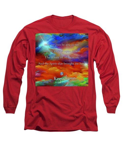 Kaypacha August 17,2016 Long Sleeve T-Shirt