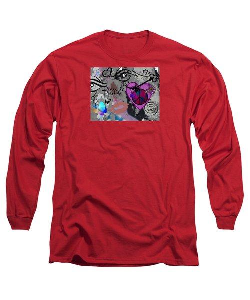 Key To Energy Of Peace  Long Sleeve T-Shirt