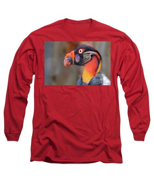 King Vulture Long Sleeve T-Shirt by Paul Marto