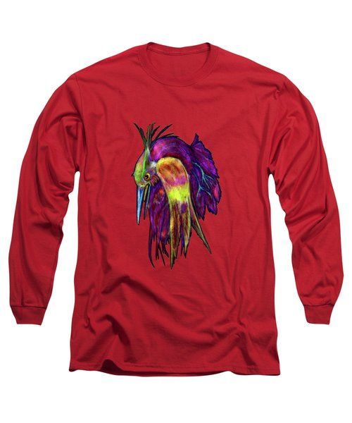 Kingfisher Falling La Caida Del Martin P Long Sleeve T-Shirt
