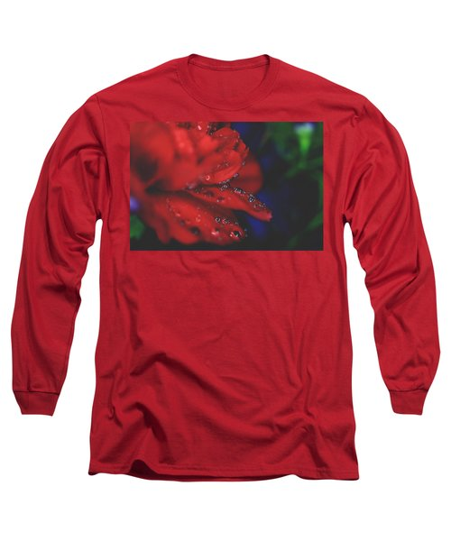 Kisses In The Rain Long Sleeve T-Shirt