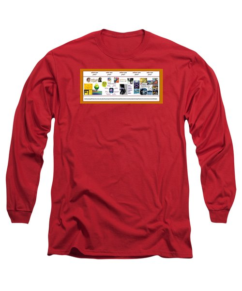 Know Thyself Long Sleeve T-Shirt by Peter Hedding