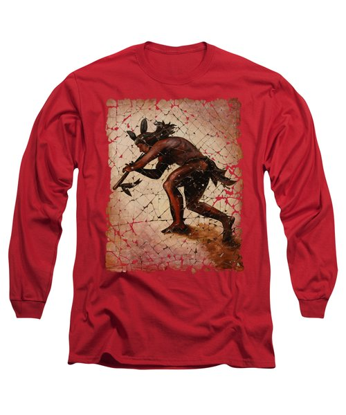 Kokopelli The Flute Player  Long Sleeve T-Shirt