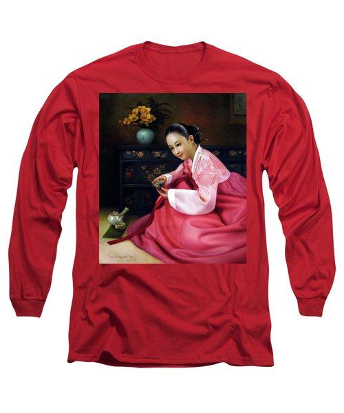 Korea Belle 3 Long Sleeve T-Shirt