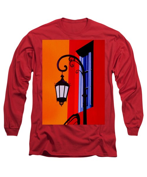 La Boca Cityscape #39 Long Sleeve T-Shirt