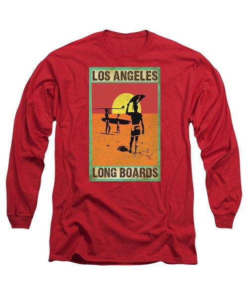 La Long Boards Long Sleeve T-Shirt