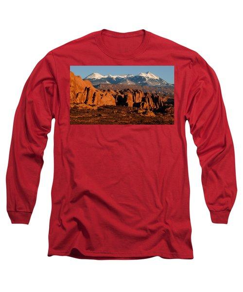La Sal Mountains Long Sleeve T-Shirt