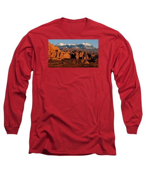La Sal Mountains Long Sleeve T-Shirt