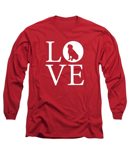 Labrador Love Red Long Sleeve T-Shirt